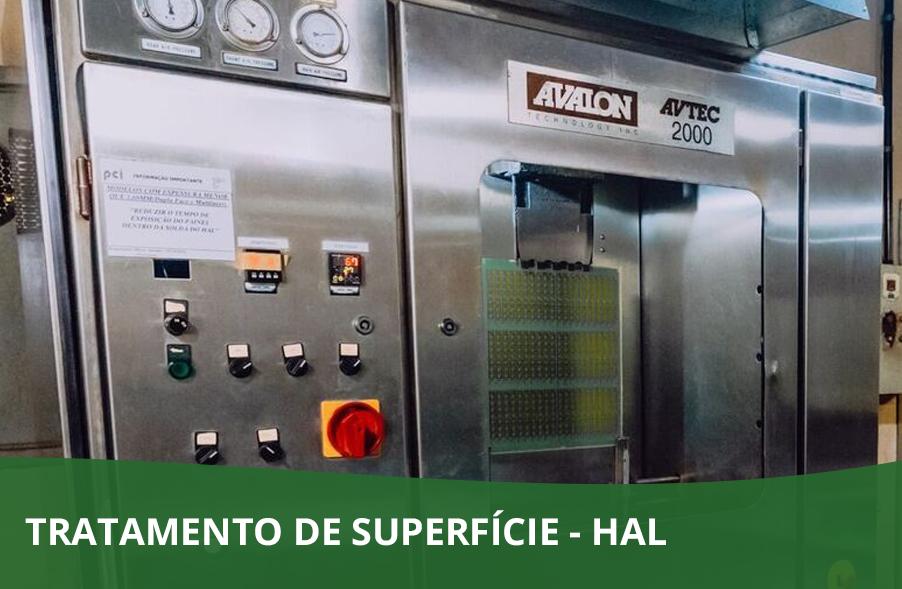 TRATAMENTO DE SUPERFÍCIE – HAL