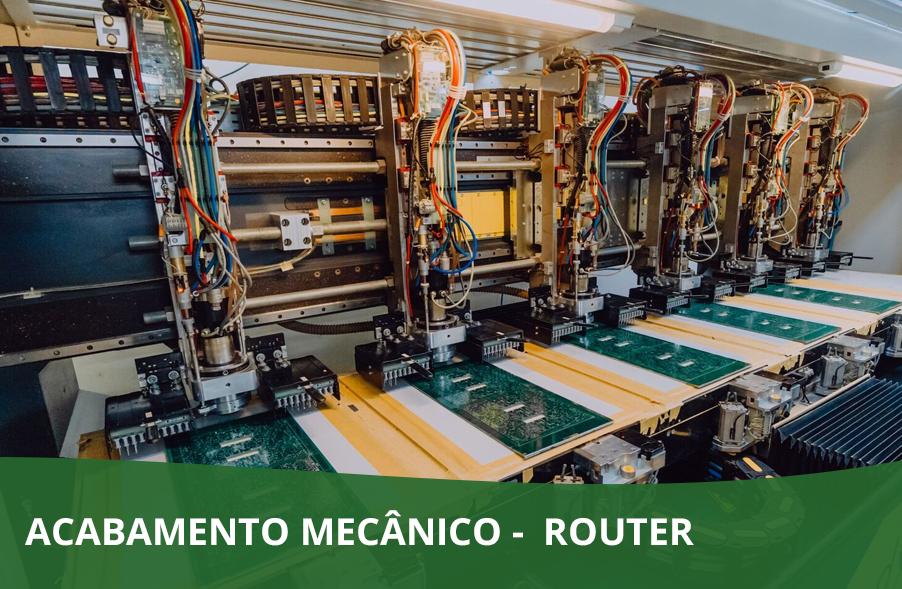 ACABAMENTO MECÂNICO –  ROUTER